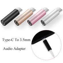 Load image into Gallery viewer, Universal Conversion Headphone Speaker USB-C Audio Adapter Headset Converter Type-C To 3.5mm AUX
