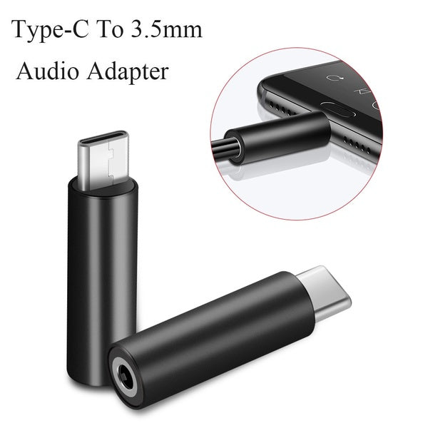 Universal Conversion Headphone Speaker USB-C Audio Adapter Headset Converter Type-C To 3.5mm AUX