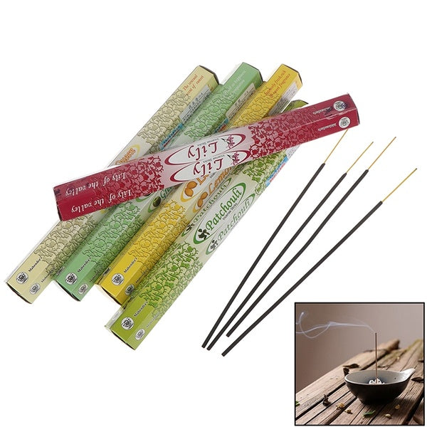 20*Indian Incense Authentic Tibetan Incense Sticks Sandalwood Multiple Flavor SS