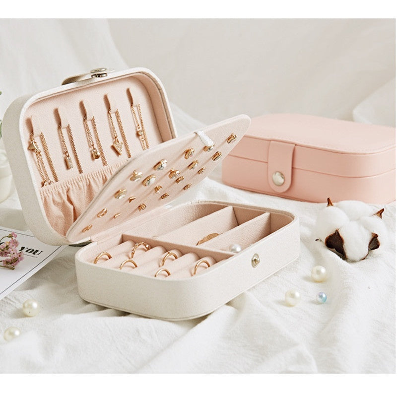 Multi Functional Jewelry Box Organizer Display Jewelry Storage Case for Rings Earrings Necklaces