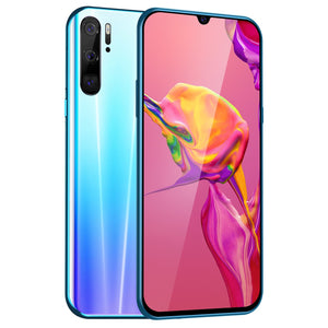 6.3 inch Water Drop Screen Android 9.1 MTK6797 10 Core 6G+128G Dual SIM Card Dual Standby 8.0 MP + 16.0 MP GPS GSM 3G WCDMA 4G Smartphone