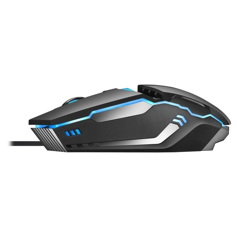 Wired Luminous Gamer Computer gaming mouse Mechanical Macros Define the game mouse Colorful Light Suitable for Laptop, PC and Computer
