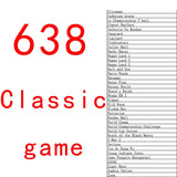 638 Games Game Machine Video Game TV Game Classic Game
