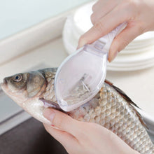 Load image into Gallery viewer, New Plastic Fish Scales Graters Scraper Fish Cleaning Scraping Scales Device