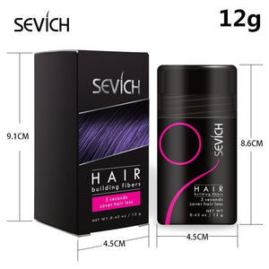 Hair Building Fibers 10 Colors Unisex Hair Salon Keratin Fiber with Spray Applicator Pump Tool Sevich Hair Loss Building Fiber Powder Hair Thickening Powder