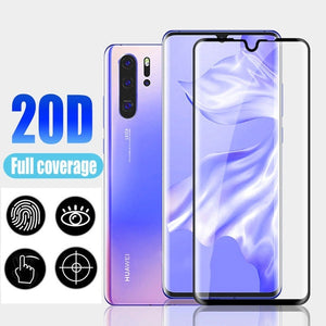 20D Screen Protector Tempered Glass for Huawei P30 Pro Mate 20 Pro Protective Film for Huawei P20 Pro P20 Lite Mate 20 Lite Mate 20 P20 P30 HD Glass