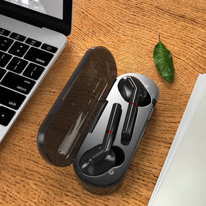 [Bluetooth5.0, 8D Surround] TWS Bluetooth Earbuds Waterproof Wireless Sport Headset Stereo Noise Cancelling Headphone Touch Control Bluetooth Earphones with Charging Case
