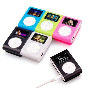 Small Size Portable MP3 Player Mini LCD Screen MP3 Player Music Player