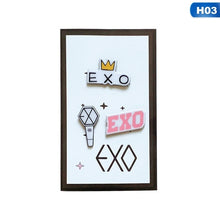Load image into Gallery viewer, 3Pcs/Set Twice Got7 Exo Seventeen Blackpink Acrylic Badge Brooches For Fans Souvenir Jewelry Gift