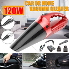 Load image into Gallery viewer, 4 In 1 120W 2000MAH 5500pa Handheld Cordless Vacuum Cleaner Portable Rechargeable Wet Dry Dual-use Vacuum Cleaner for Home and Car Cleaning