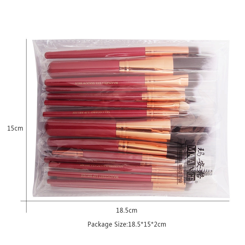 22/20/15/7pcs Makeup Brushes Set Eye Brush Lip Brush Make Up Brush
