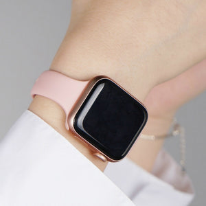 Silm Strap for Apple Watch 4 Band 44mm 40mm IWatch Band 38mm 42mm Sports Silicone Bracelet Watchband for Apple Watch 4/3/2/1