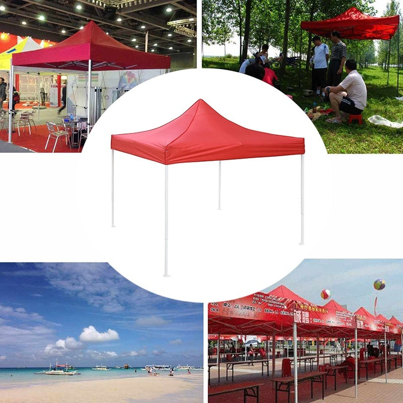 6.5x6.5ft /10x10ft Canopy Top Replacement Patio Pavilion Gazebo Oxford Waterproof UV Protection Sunshade Cover Cover Outdoor (Without Bracket)
