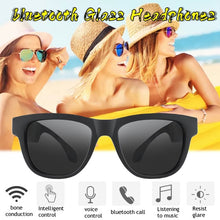 Load image into Gallery viewer, New Styles Smart G1 Bone Conduction Glasses Headphones Polarized Glass blue tooth Waterproof Stereo Earphones