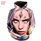 Papular 3D Billie Eilish Hoodies Men/Women Sweatshirts Long Sleeve Harajuku Hoodie 3D Billie Eilish Print Hoodies 3XS-5XL