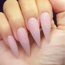 Load image into Gallery viewer, 1pcs French Extended Crystal Nail Manicured Crystal Powder Three Colors Pink Transparent Optional