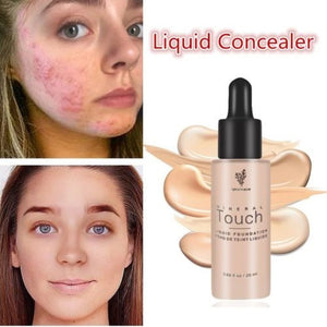 6 Colors Women's Base Face Smooth Concealer Moisturizing Makeup Liquid Foundation Female Beauty Makeup