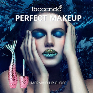 Textures Mermaid Lipgloss 20 Colors silk matte long-lasting liquid lipstick metal light dreamy lip gross
