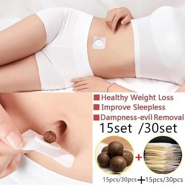 15sets /30sets /45sets/6osetsNatural Ingredients Weight Loss Paste Belly Belly Button Fat Burning Fat Paste Healthy Weight Loss Belly Button Quick Weight Loss Patch