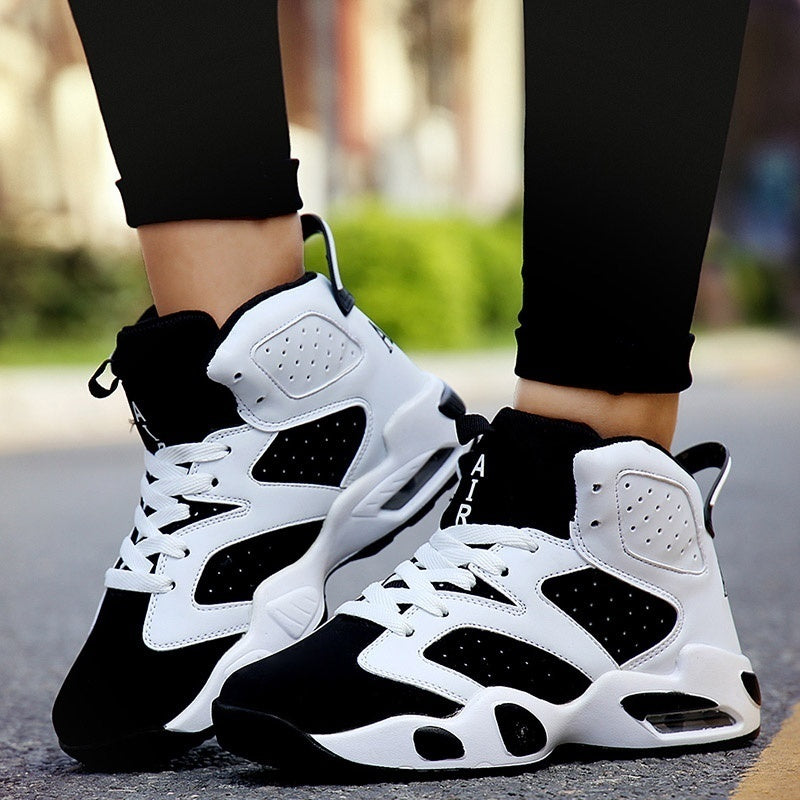 Women Men Basketball Shoes Outdoor Sports Sneakers Basketball Shoes