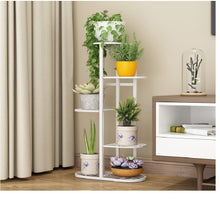 Load image into Gallery viewer, Iron Flower Plant Stand Indoor 5 Tier Metal Plant Stand Flower Pots Stander Display Pots Holder