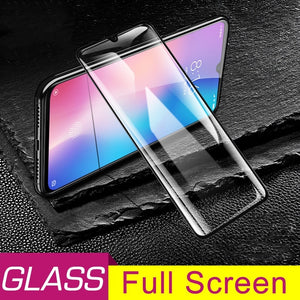 9D Full Cover Protective Glass For Xiaomi Mi 9 Mi9 SE CC9 SE Screen Protector For Xaomi Mi9 SE Redmi 7A 7 Note 7 Pro 7 Front Tempered Glass + Back Camera Glass