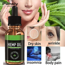 Load image into Gallery viewer, Pure Nature Oil Pain Relief Sleep Aid Anti Stress Moisturizing Hair Treatment 5ml(trial), 10ml,30ml.