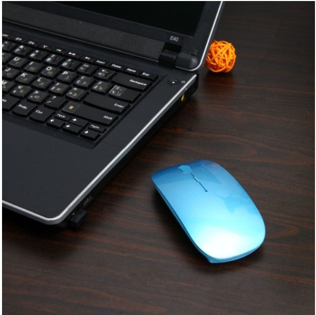 1600 DPI USB Optical Wireless Computer Mouse Receiver 2.4G Super Thin Mouse for Laptop