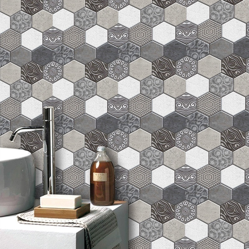 10/20Pcs Brick 3D Stone Self Adhesive Wallpaper for Living Room Bathroom Kitchen Backsplash Tiles Wall Papers Home Decor