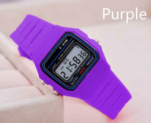 8 Color LCD Wristwatch Smart Electronic Watch  Electronic Watch Toys Gifts for Boys Girls Children Kids