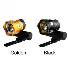 Load image into Gallery viewer, Waterproof Super Bright T6 LED Cycling Head Lamp Bicycle Headlight Bicycle Front Light Torch Headlight with USB Rechargeable Cycling Light