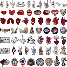 Load image into Gallery viewer, 1Pcs DIY Iron on Patches Embroidered Badge Applique Fabric Craft Sewing