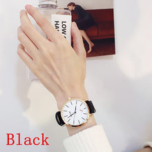 Load image into Gallery viewer, Women Luxury Fashion Watches Leather Watch Ladies Dress Casual Analog Quartz Wristwatch