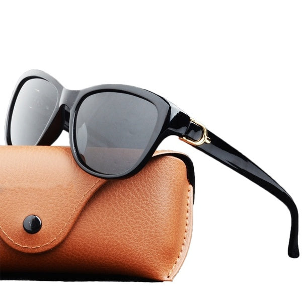 Luxury Brand Design Uv400 Protection Cat Eye Elegant Polarized Sunglasses Driving Eyewear Gafas De Sol Lunette Soleil