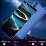 P20 Pro5.8''Full Screen Mobile Phone Android 8.1 MTK6580A Quad Core  Dual Sim 3800mAh Unlocked Smartphone
