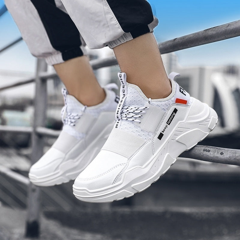 Fashion Trend Men Sports Shoes Outdoor Walking Shoes Youth Boys Shoes Gym Workout Jogging Shoes