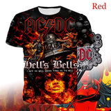 New Pattern Details About ACDC Black Classic Men Fashion T-Shirt