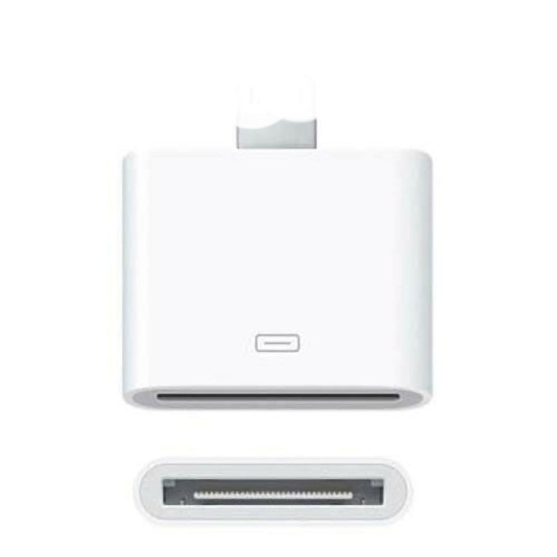 30 Pin Female To Apple Male Adapter Portable Converter For IPhone IPad IPod Laptop Computer