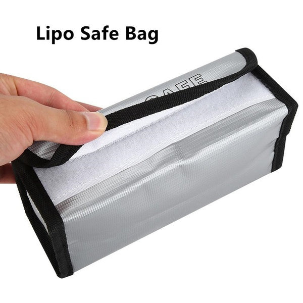 185mm RC LiPo Battery Fireproof Safety Guard Bag Charging Sack ExplosionProof