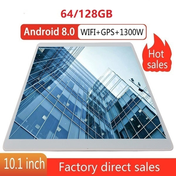 2019 WiFi Tablet PC 10.1 Inch Ten Core 4G Network Android 8.1 Arge 2560*1600 IPS Screen Dual SIM Dual Camera Rear 13.0 MP IPS