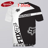 Fox Racing 3d Print Tank Tops/T Shirts/Sweatshirts/Hoodies/Zipper Hoodie/Pants/Shorts/Polo Shirts Men Women Hip Hop Top Clothing