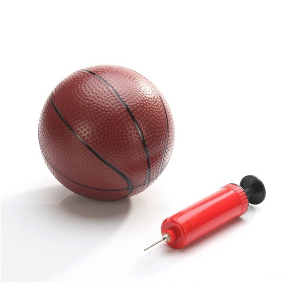 Red Hand Push for Football for Ball Hand Air Pump Inflating Air Inflator Pump