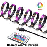 Color Changing LED Strip Lights Bluetooth, App Control, IP65 Waterproof LED Music Lights, 16 Million Multicolor LED Lights for Bedroom, Room, Kitchen, Party (1m/2m/3m/4m/5m)