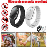 Portable Ultrasound Mosquito Repellent Bracelet Waterproof Usb Rechargeable Mosquito Repellent Watch Camping Children Anti-Mosquito Watch