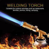 High Temperature Welding Torch Gas Turbo Torch Brazing Solder Propane Welding Plumbing For Welding Soldering