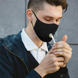 Unisex Solid Color Dustproof Face Mask Outdoor Breathable Protective Mouth Mask for Drinks Men Women Sunprotection Fashion Masks