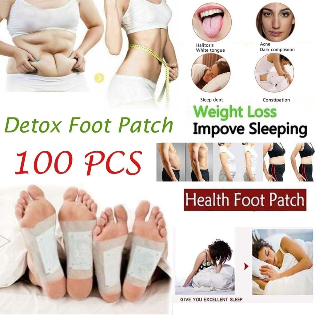 100/80/60/40/10/4Pcs Ginger Foot Patch Detox Foot Patches Pads Improve Sleep Quality Weight Loss Slimming Patch Health Care