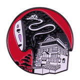 P5381 Anime Figures Hard Enamel Pin Badge Backpack Collar Lapel Anime Jewelry