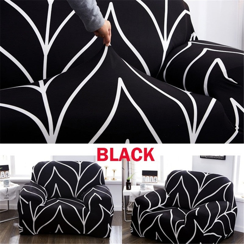 1/2/3/4 Seater Easy Fit Fashion Recliner Sofa Covers Retro Armchair Sofa Cover Stretch Soft Couch Slipcovers