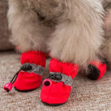 2020new Pet Accessories Pet supplies Pet Dog Shoes Waterproof Booties Rubber Shoes Socks Boots